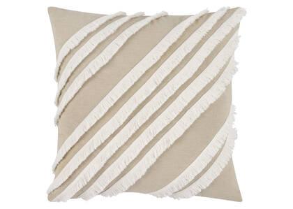 Coussin Hanalei 20x20 sable/ivoire