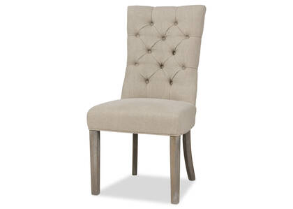 Oakwood Dining Chair -Nantucket Linen
