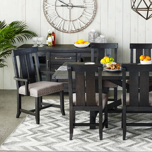 Ironside Ext Dining Table Rect -Café
