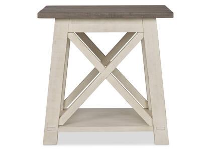 Sechelt Square Side Table -Cove Drift