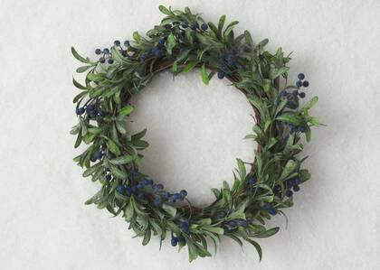 Afina Blueberry Wreath
