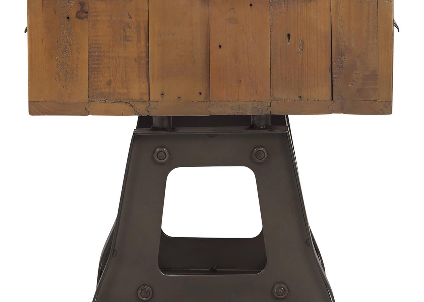 Stapleton Side Table -Whiskey Brown