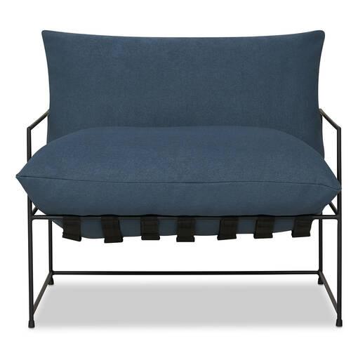 """Mondo Chair 38"""" -Uno Indigo"""