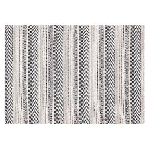 Jovie Stripe Placemat White/Atlantic