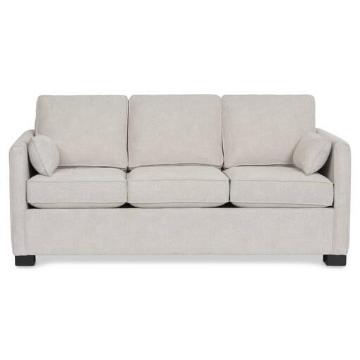 Canapé avec gr lit Azure -Aiden platine