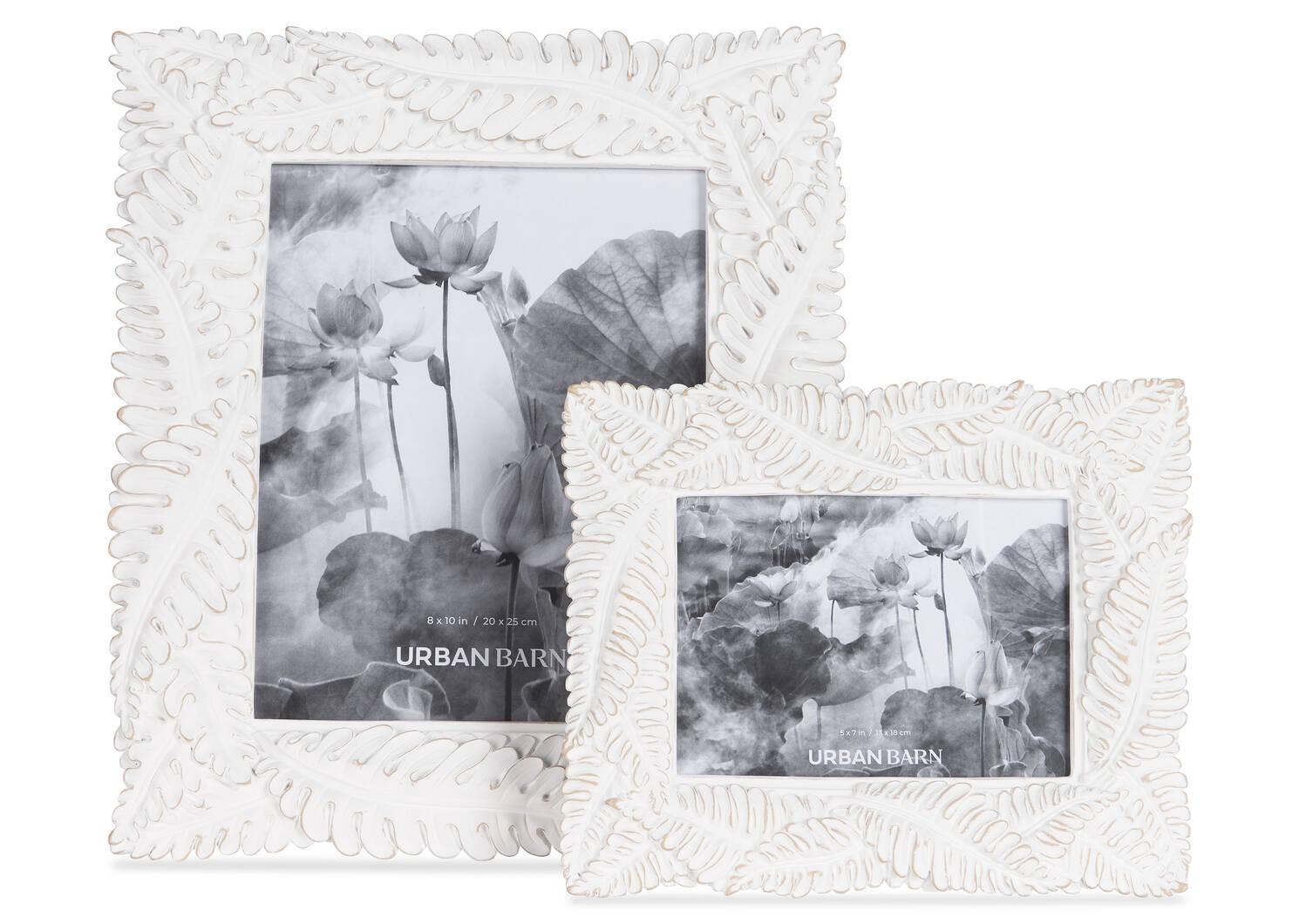 Cadres Crisanta -blanc antique