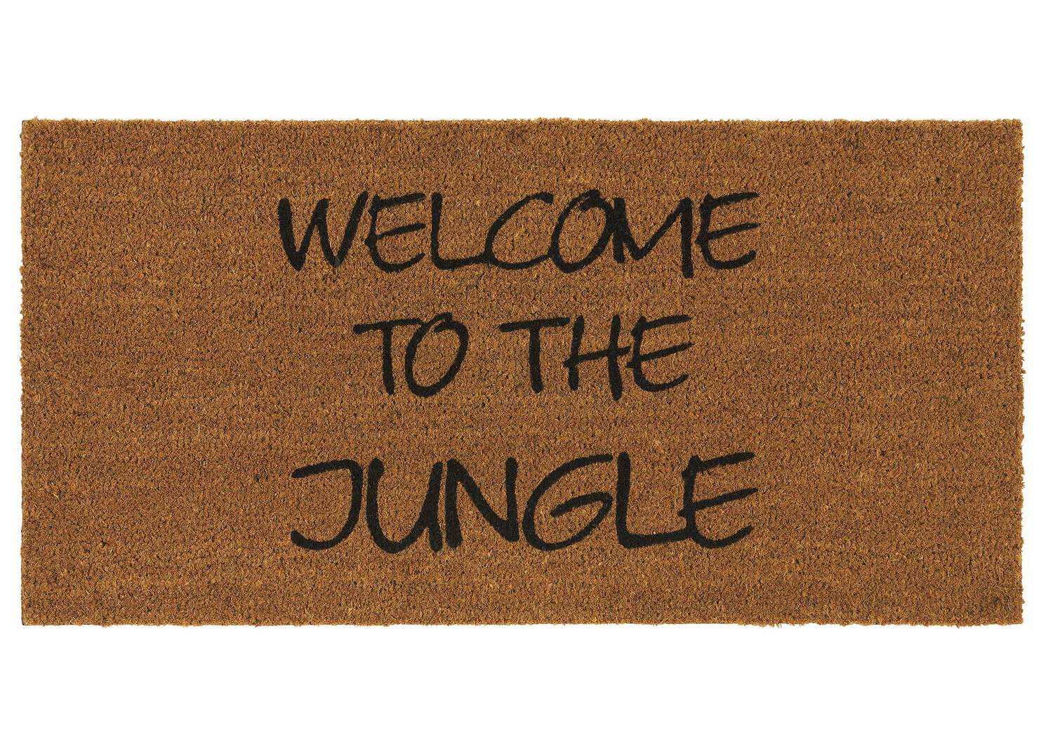 Paillasson Welcome to the Jungle naturel