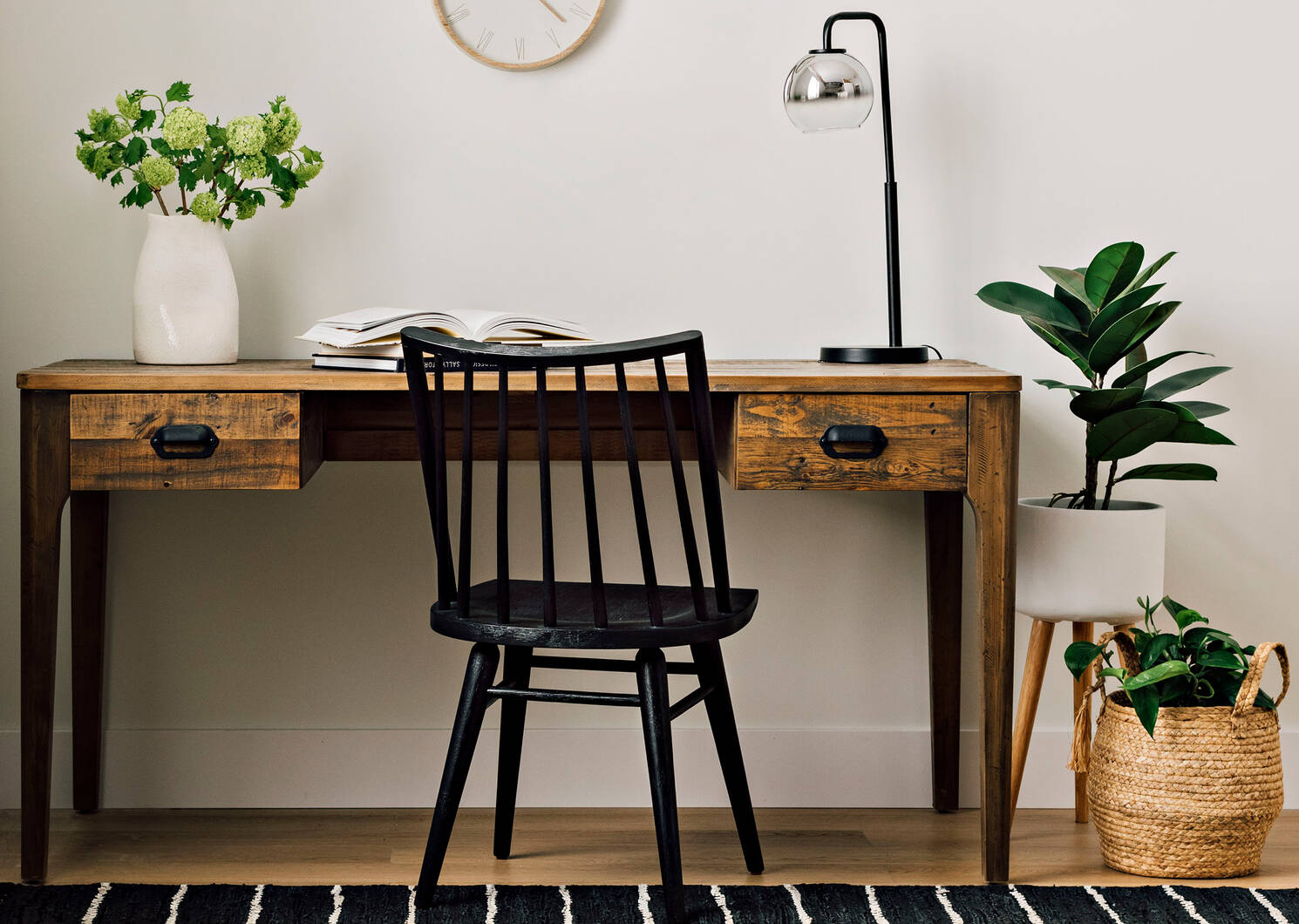 Hershel Dining Chair -Black