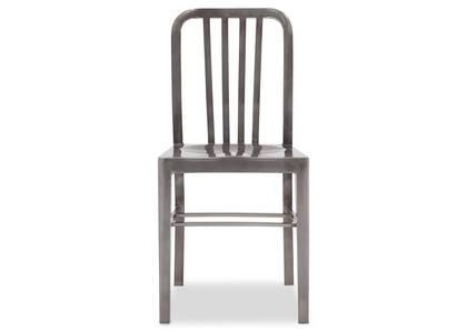 Chaise Tempo -gris métallique