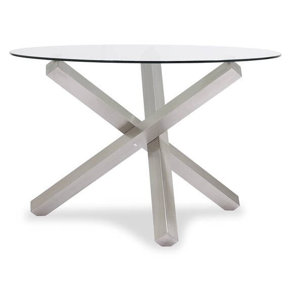 Table Maverick -acier brossé