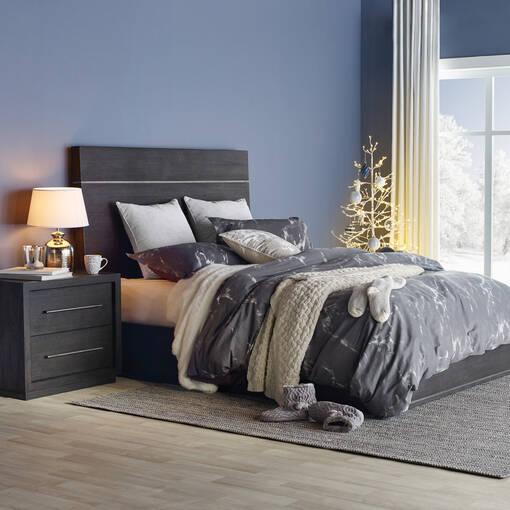 Gatsby Storage Bed -Morel Acacia