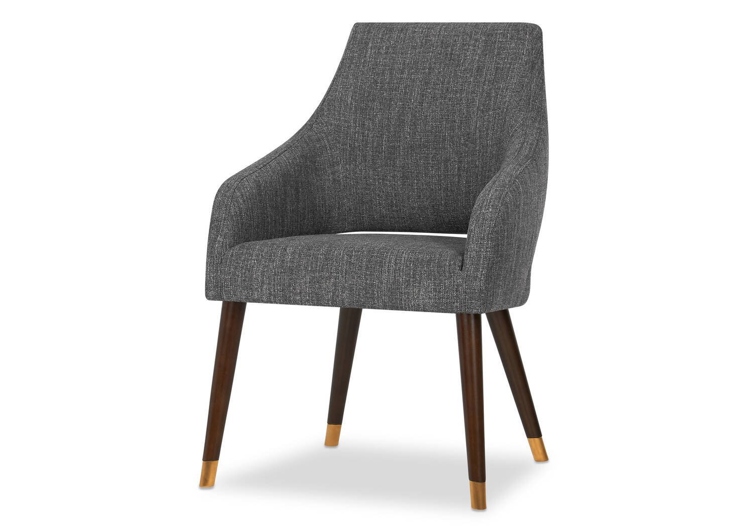 Fabian Dining Chair -Lund Charcoal