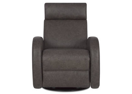 Imatra Leather Recliner -Piper Thunder
