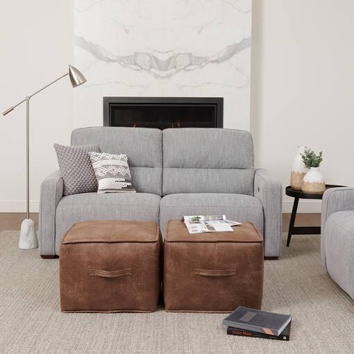 Encore Reclining Sofa -Avery Grey