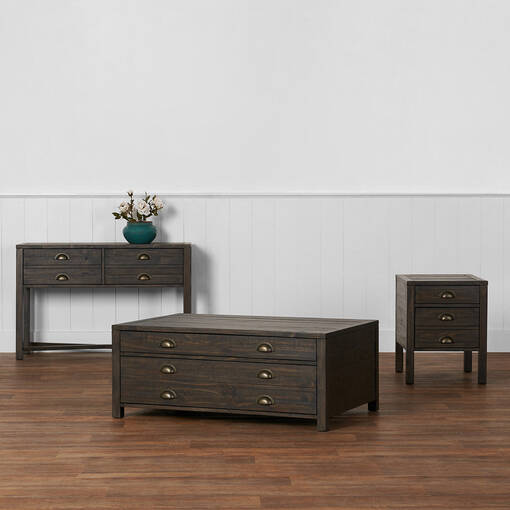 Quentin Console Table -Century Pine