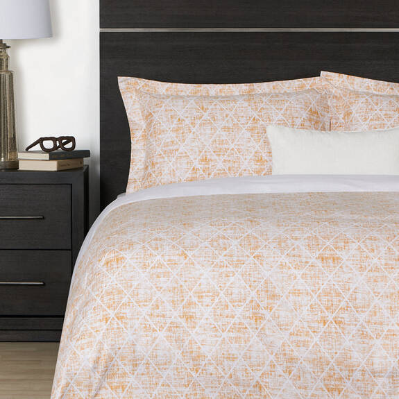 Diamant Duvet Set - Cumin