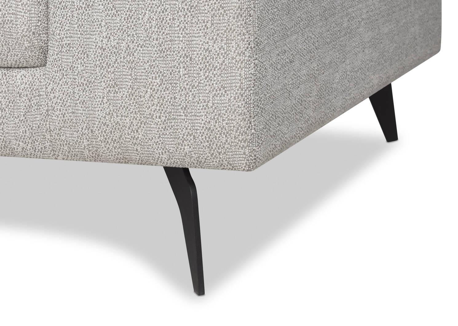 Altamira Sofa Chaise -Mina Dove, LCF