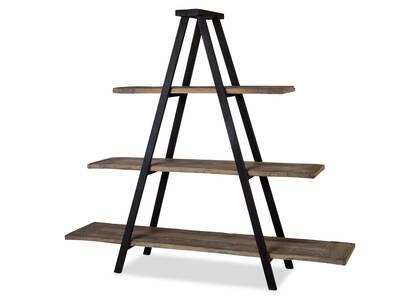 Logan Display Shelf -Weathered Elm