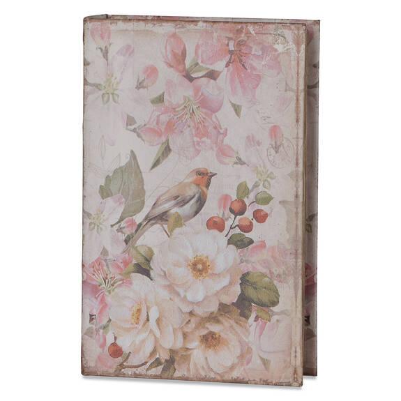 Ballad Book Box Medium Port/Ginger