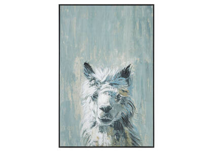 Rascal Alpaca Wall Art