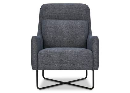 Gatwick Armchair -Victor Navy