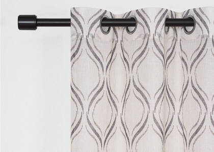Flavia Sheer 96 Natural/Grey