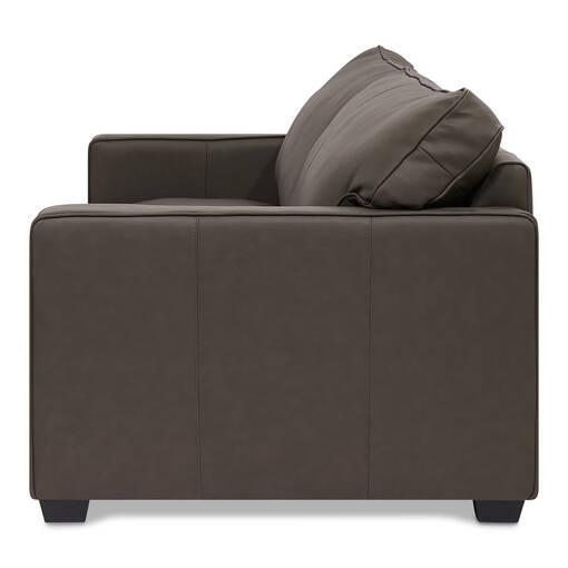Burke Leather Sofa -Soma Mountain