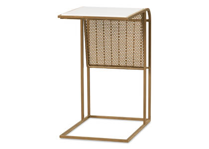 Perkins Tuck Table -Simba Brass