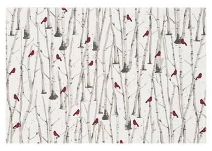 Napperon Cardinal pierre/rouge