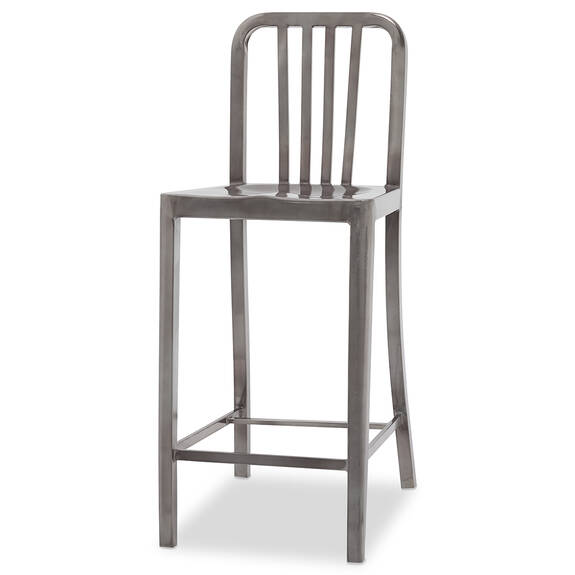 Tempo Counter Stool -Gunmetal
