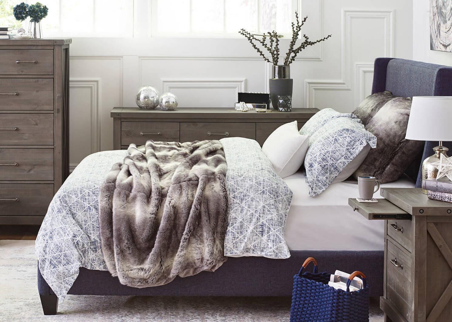 Carey Custom Bed