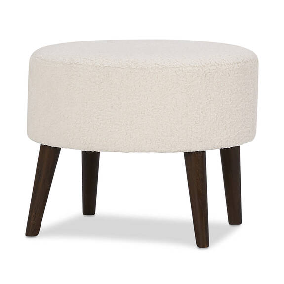 Dolly Ottoman -Woolly Natural