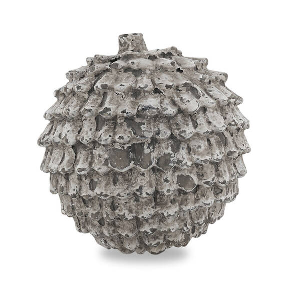 Eli Pine Cone Decor Ball Round