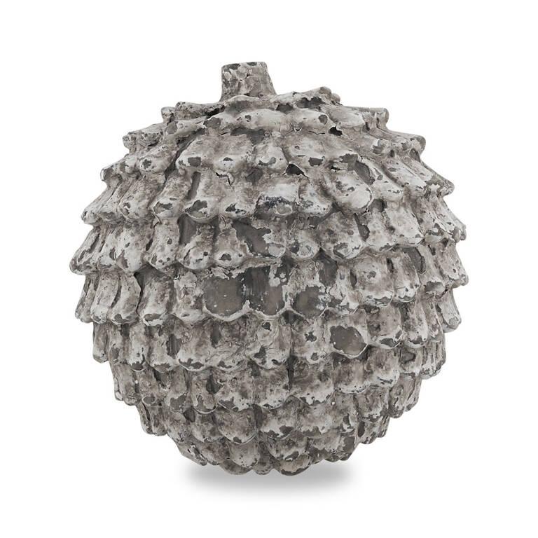 Eli Pine Cone Decor Ball Round