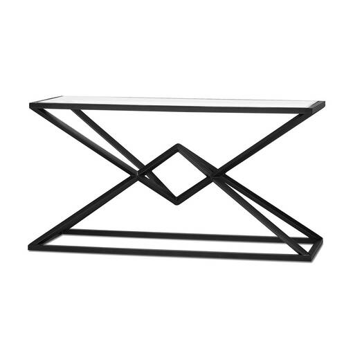 Pyramid Console Table -Glass