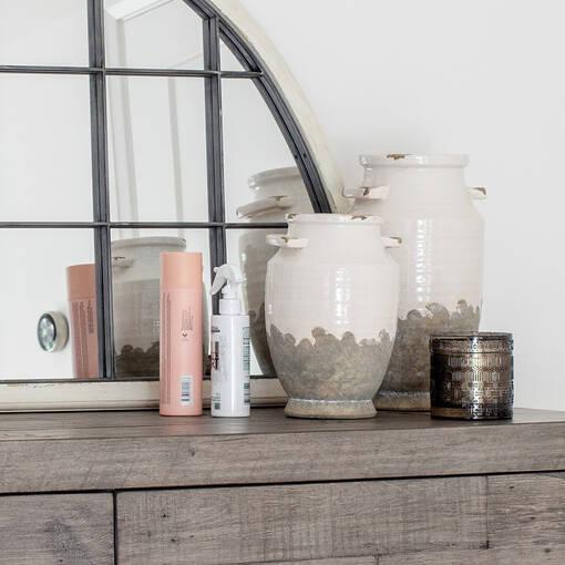 Emmaline Vases -White/Grey