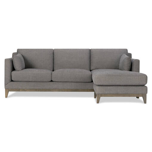 Ryerson Sofa Chaise -Aros Granite