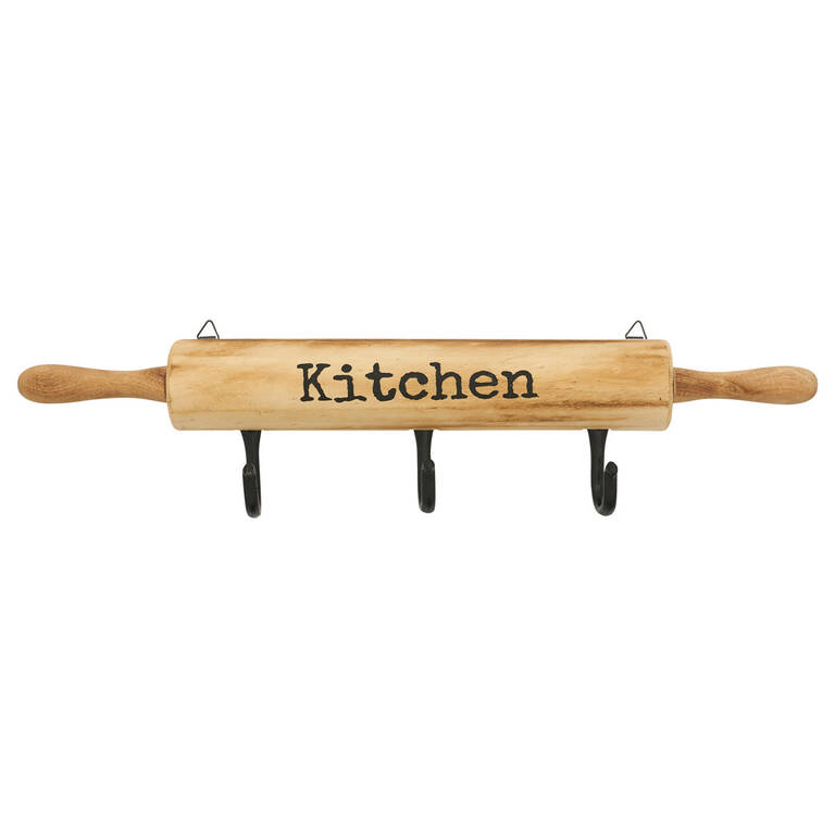 Chef Rolling Pin Wall Hook