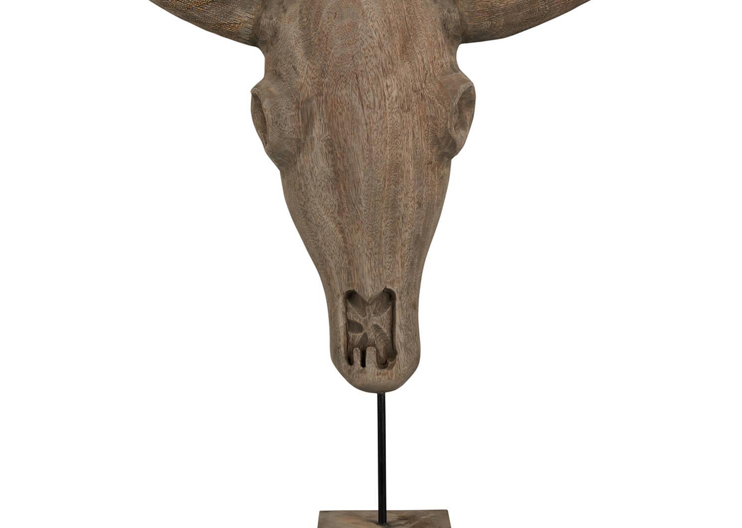 Etan Bull Head Sculpture