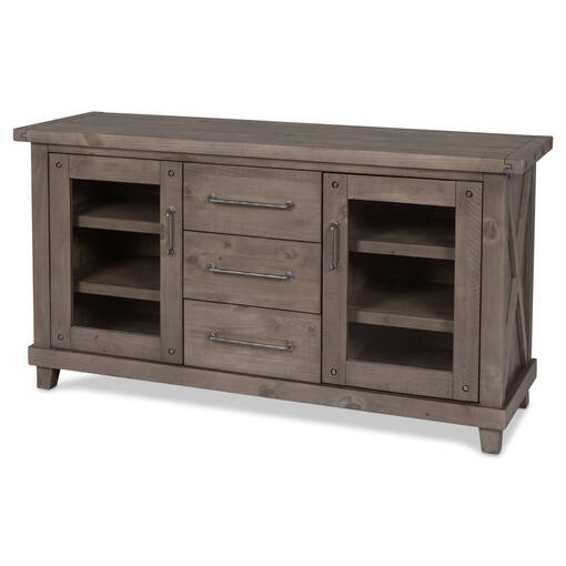 Buffet Ironside -gris rustique