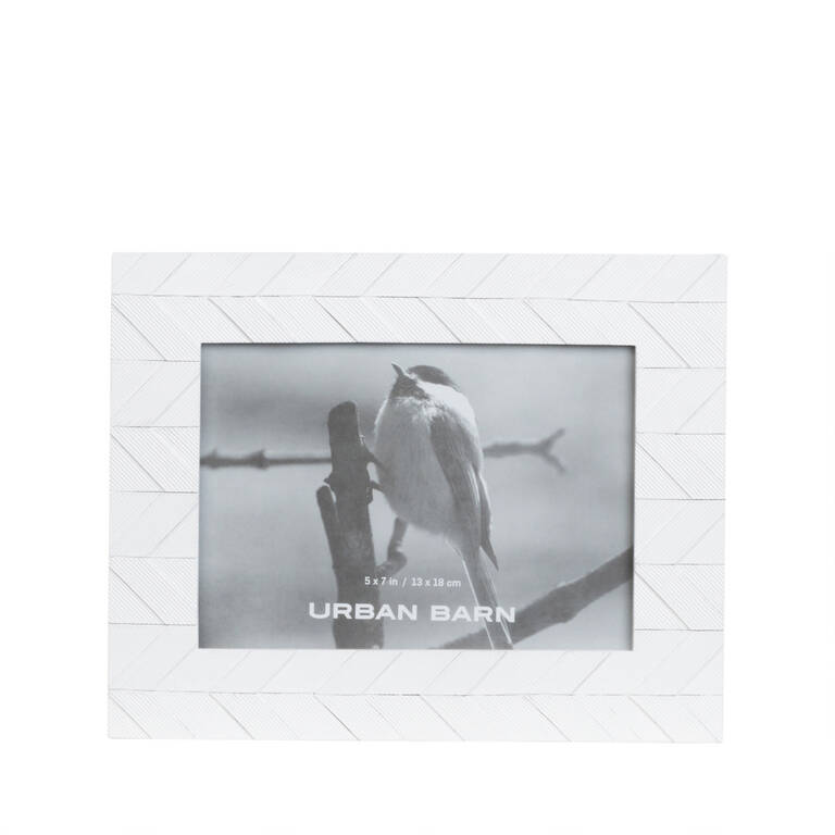 Lainie Frame 5x7 White
