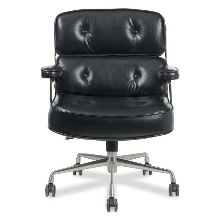 Fauteuil de bureau Kennedy -noir vintage