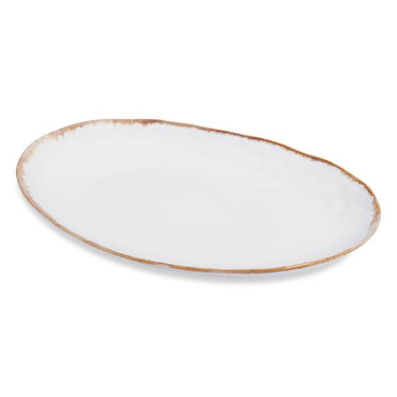 Crofton Serving Platter Antique White
