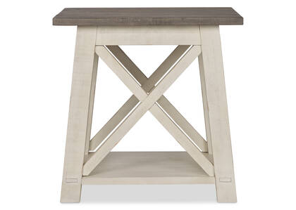 Sechelt Square Side Table -Cove Drift