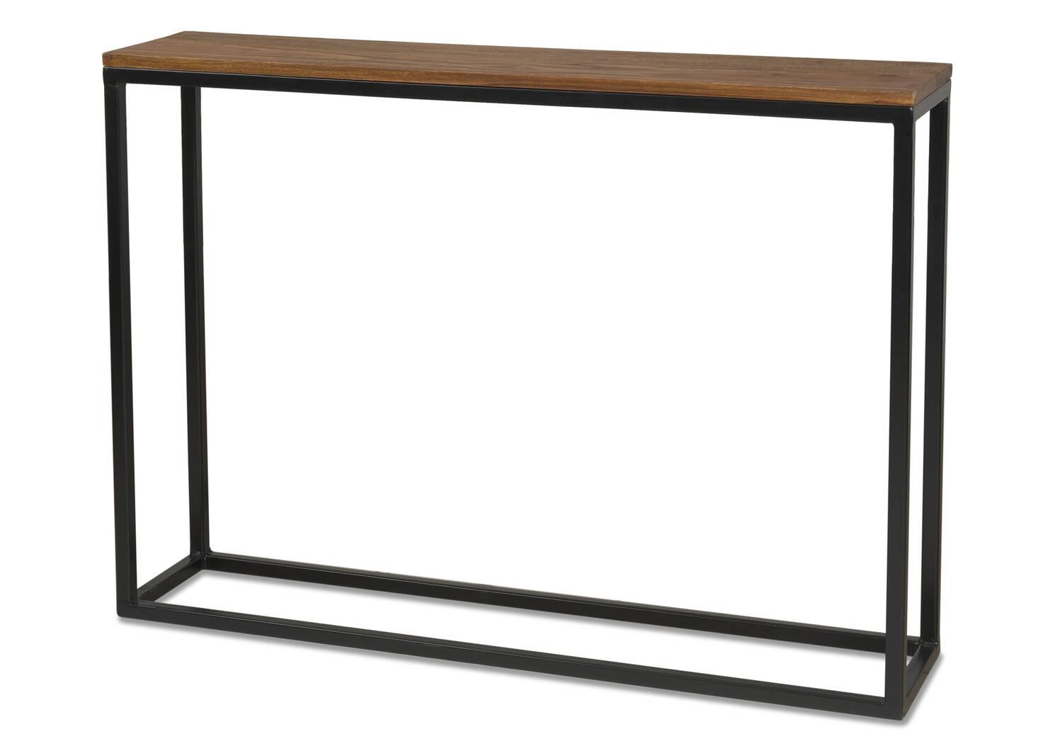Crosby Narrow Console Table -Sheesham Co
