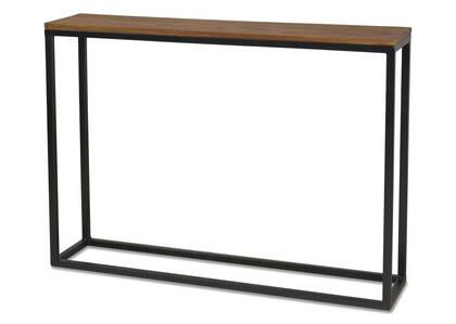 Table console étr. Crosby -sheesham cuiv