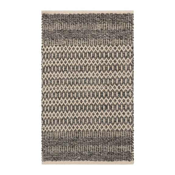 Dev Accent Rug - Charcoal