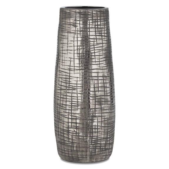 Cason Vase Large Silver