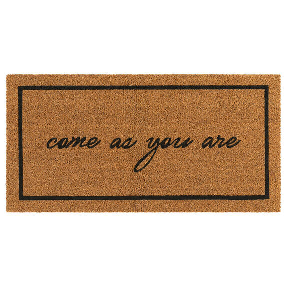 Come As You Are Doormat Natural