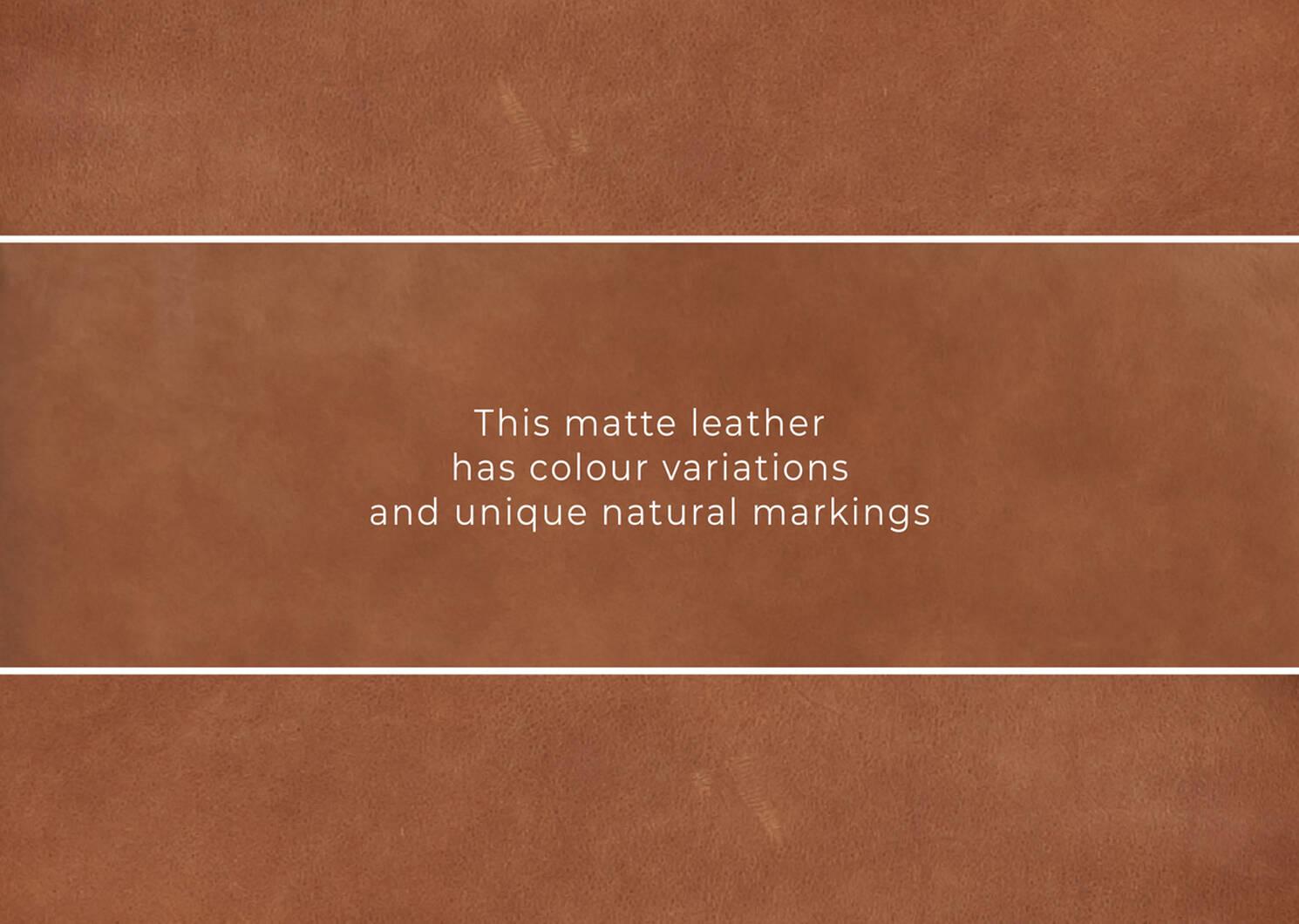 Fauteuil en cuir Lucca personnalisé